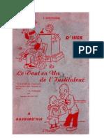Langue Française Manuel du Professeur des Ecoles. Anscombre Elites 1950 - Copie