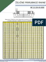 Celicne Prirubnice Ravne NP2,5 DN 40-3000