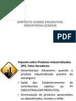 Imposto Sobre Produtos Industrializados (Aula)