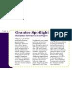 Grantee Spotlight
