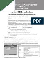 Yamaha CGP-1000 - Nuevas Funciones v1.30
