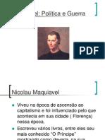 Maquiavel- Politica e Guerra