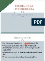 Historia de La Psicofisiologia