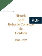 Historia de La Bolsa de Comercio