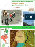 Minga por el Agua, Morales, Cauca