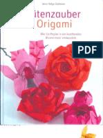 Blütenzauber mit Origami