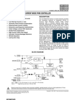 Slus223c Current Mode PWM Controller (Rev. C)