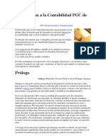 Introducción a la Contabilidad PGC de 1990
