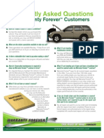 Warranty Forever FAQ