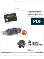 Programacion MSP430 TI Version 1.7 Noviembre