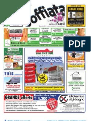 La Soffiata Ed. PAESI del cremasco Del 11 Aprile 2013