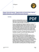 Secretary of State OUS Audit Report