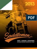 2013 Saddlemen Harley-Davidson Catalog