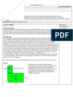Compound areas lesson plan