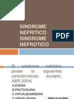 SINDROME NEFRITICO-NEFROTICO