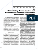 Remediating Motor Control