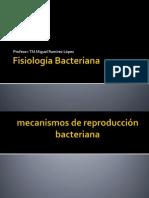 Unidad 2.- Fisiología Bacteriana