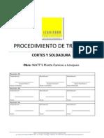Cortes y Soldura