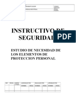 Instructivo de Seguridad