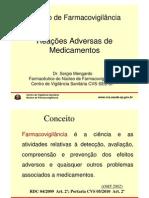 Farmacovigilância - histórico e classificação RAM