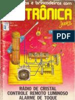 Experiências e Brincadeiras com Eletrônica Jr - Nº02 - 1984