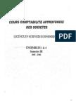cours comptabilité approfondies des sociétés (repartition des benefices constitution des sociétés valeur mathematique...etc