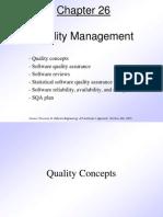 Pressman Quality Management