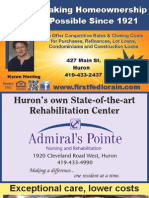 Huron Hometown News ads