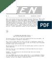 PEN Newsletter No. 4 - Feb 1986