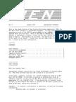 PEN Newsletter No. 9 - Aug 1986
