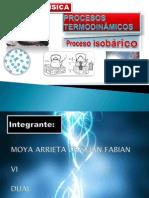 Proceso Isobarico Moya