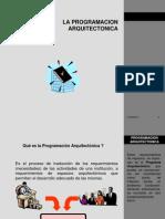 La Programacion Arquitectonica