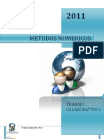 Trabajo Col No 3 Metodos Numericos.doc