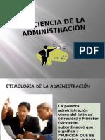 LA CIENCIA DE LA ADMINISTRACIÓN-UNCEN 28-07-11