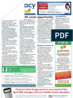 Pharmacy Daily for Fri 12 Apr 2013 - Health insurance opportunity, Swisse, Phytologic, PSA-RACGP deal and much more