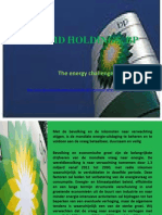 MADRID HOLDINGS, BP De energie-uitdaging