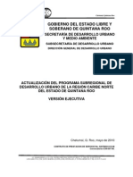 Programa Subregional de Desarrollo Urbano de La Region Caribe Norte Ve 1