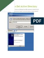 Instalacion Del Active Directory y Politicas