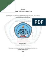 Contoh Resume - Prilaku Organisasi