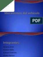 Mecanismos del vehículo transmicion transaccial