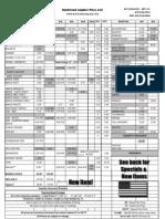 Kencraft Price List