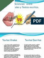 Textos Orales y Escritos