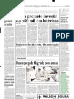 2002.01.25 - Caminhão pega fogo na BR-381 - Estado de Minas