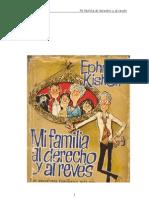 Kishon Ephraim - Mi Familia Al Derecho Al Reves
