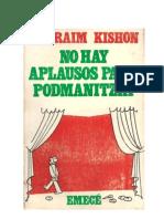 Kishon Ephraim - No Hay Aplausos Para Potmanitzki