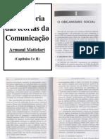 A História das teorias da Comunicação