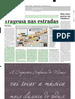 2002.03.18 - Tragédia nas estradas - Estado de Minas
