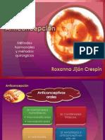ANTICONCEPCIÓN- met. hormonales y qx
