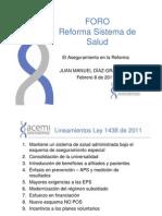 Acemi Ley 1438 de 2011