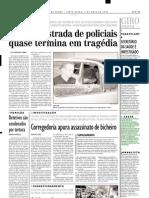 2002.05.03 - Carreta Perde o Controle Na BR-381 - Estado de Minas